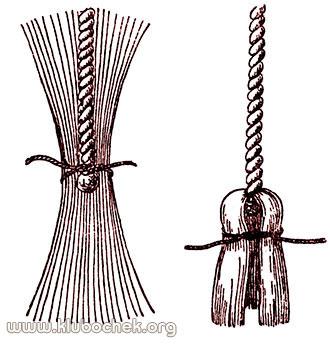 138Как сделать декоративную кисточку из ниток