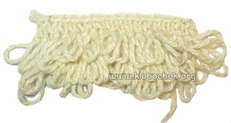 Вязание узор каракуль 65
